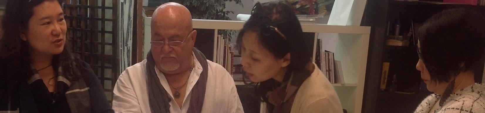 La Prof. JIN in Academy Milano