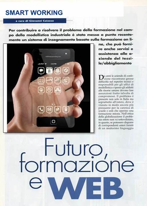 2002 FORMAZIONE MODA IN WEB È REALTÀ