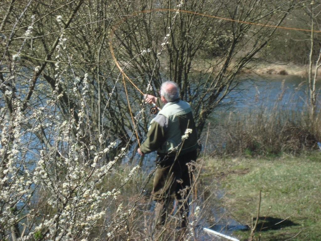 Pêcheur en action