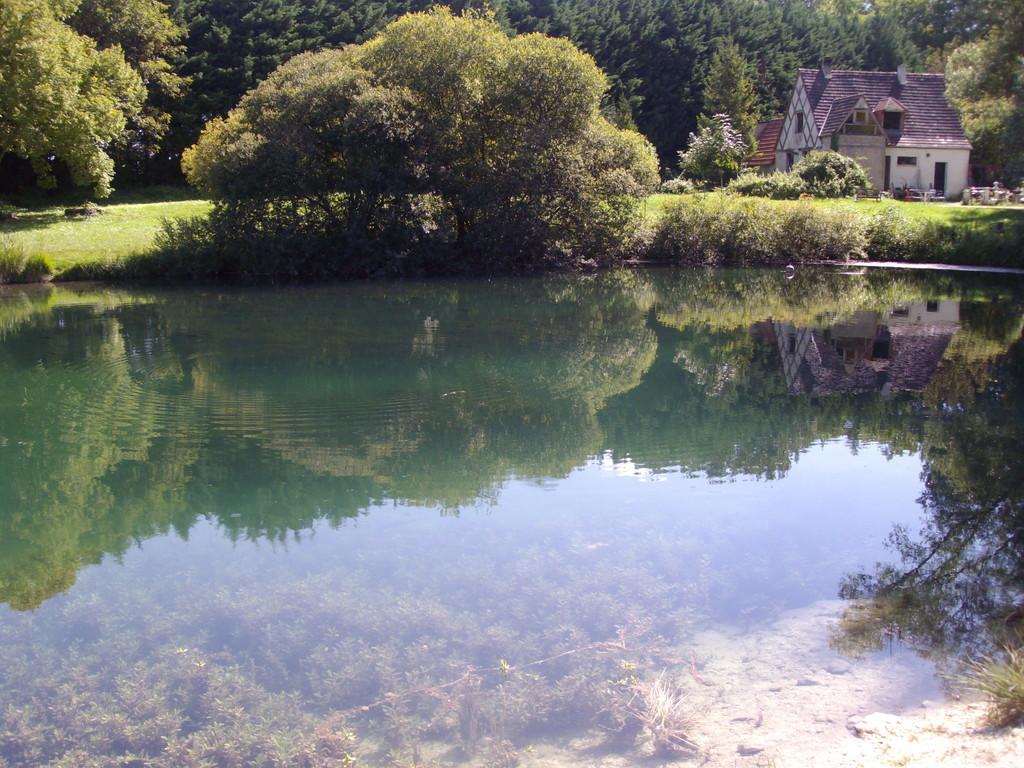 Le premier lac en été