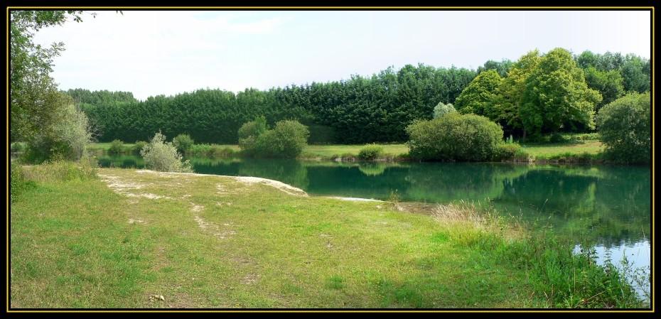 Limite entre le 2ème et 3ème lac