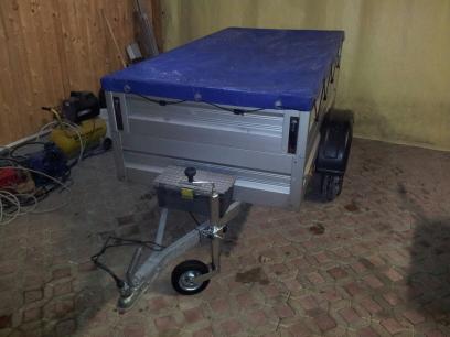 Humbaur Alu 750 kg