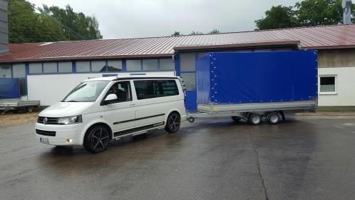 Herr Jung mit neuem VZ 41 10 Zoll und 100 km/h Zulassung