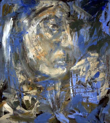 Expressives Portraet der mythischen Medea