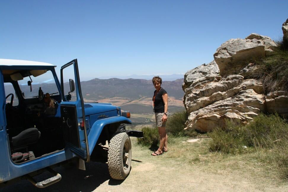 Blick vom Swartberg Pass