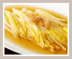 黄金白菜の鮑ソース煮込み 1,600円