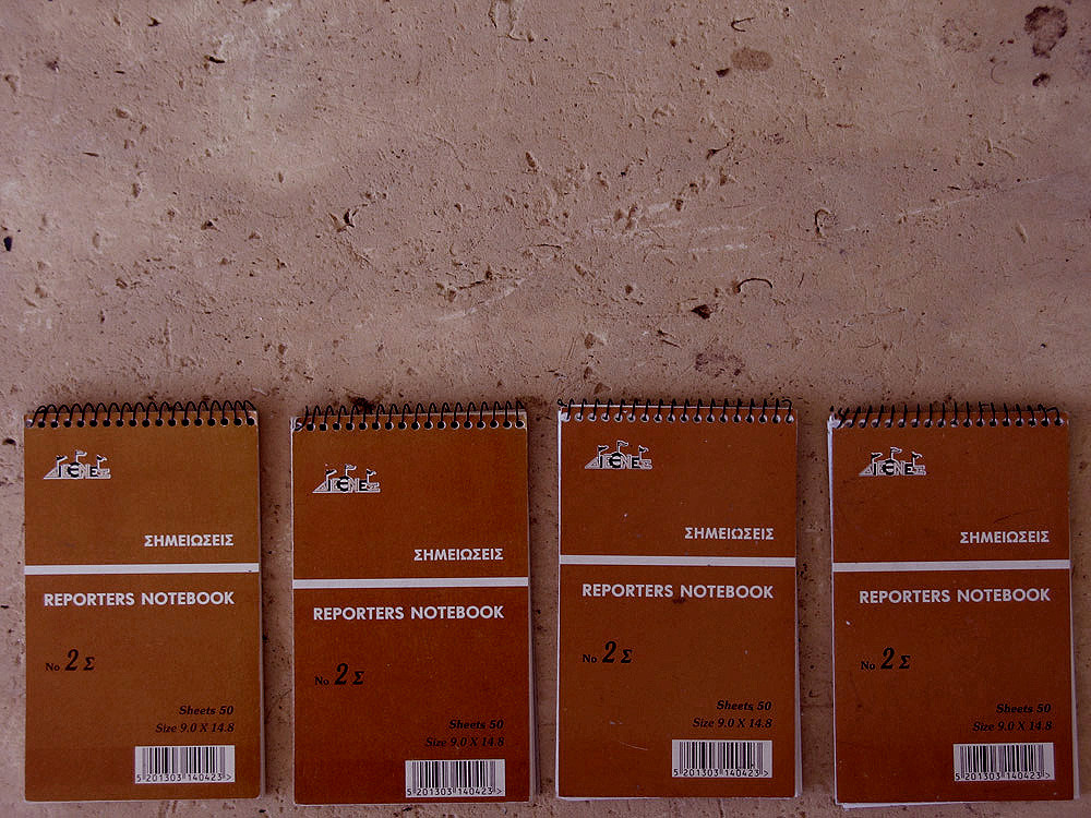 diary entries by hanna schimek, exerpts from four reporters notebooks