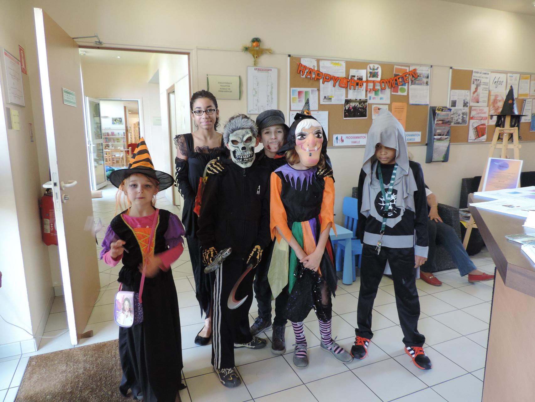 Petite visite d'Halloween