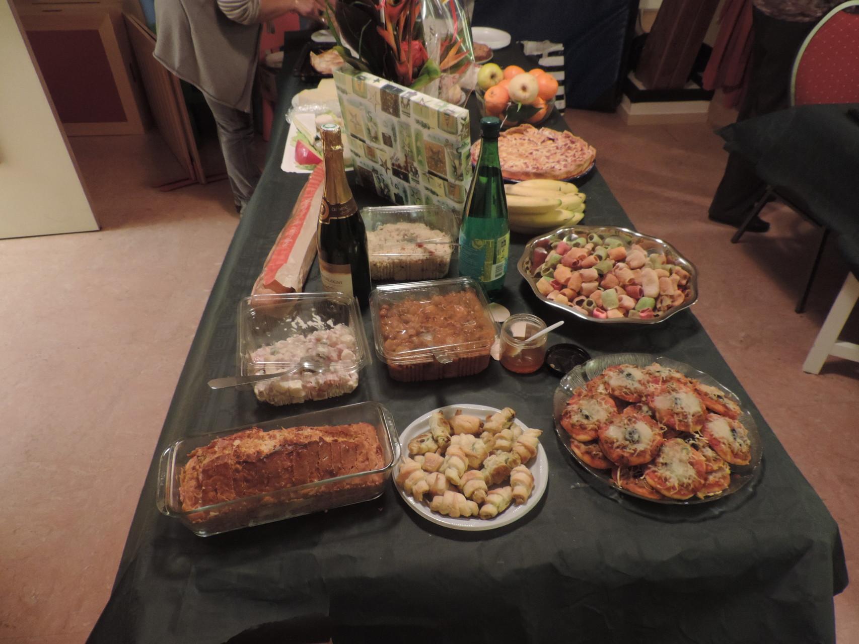 Repas de Noël Anglais