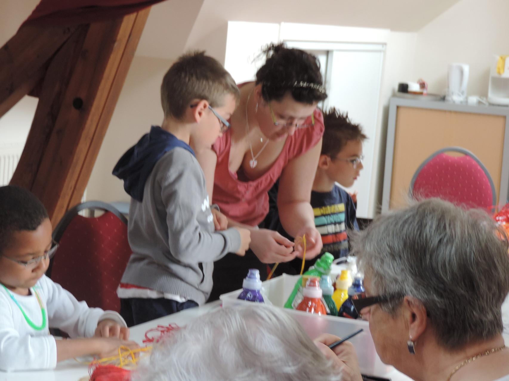 Atelier Panier de Pâques