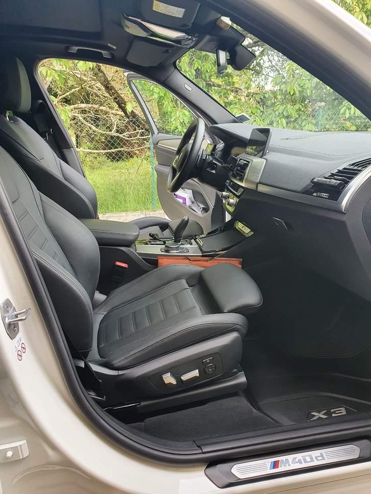 Intérieur avant BMW X3