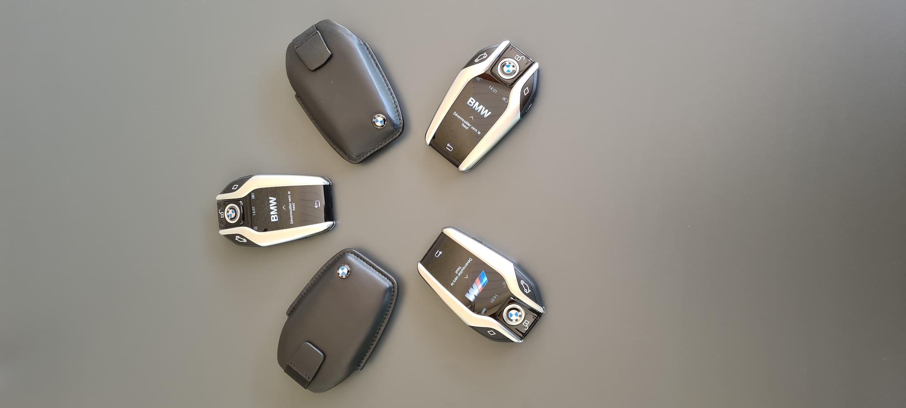 Clés tactiles et guidages à distance, des voitures dernières génération.