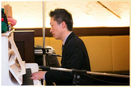 ピアニスト:松竹大介さん