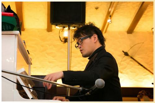ジャズピアニスト:國友章太郎さん