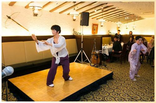 太極拳:陳先生と生徒の都外川さん