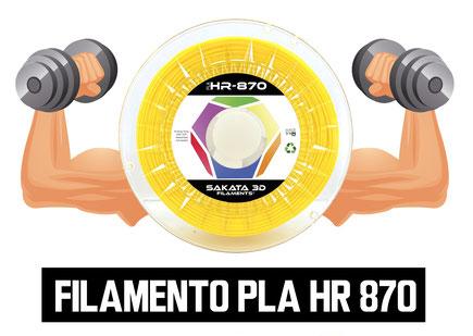 Filamento Sakata3D PLA870 Ingeo el filamento premium