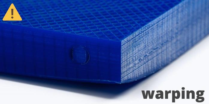 warping en impresión 3D