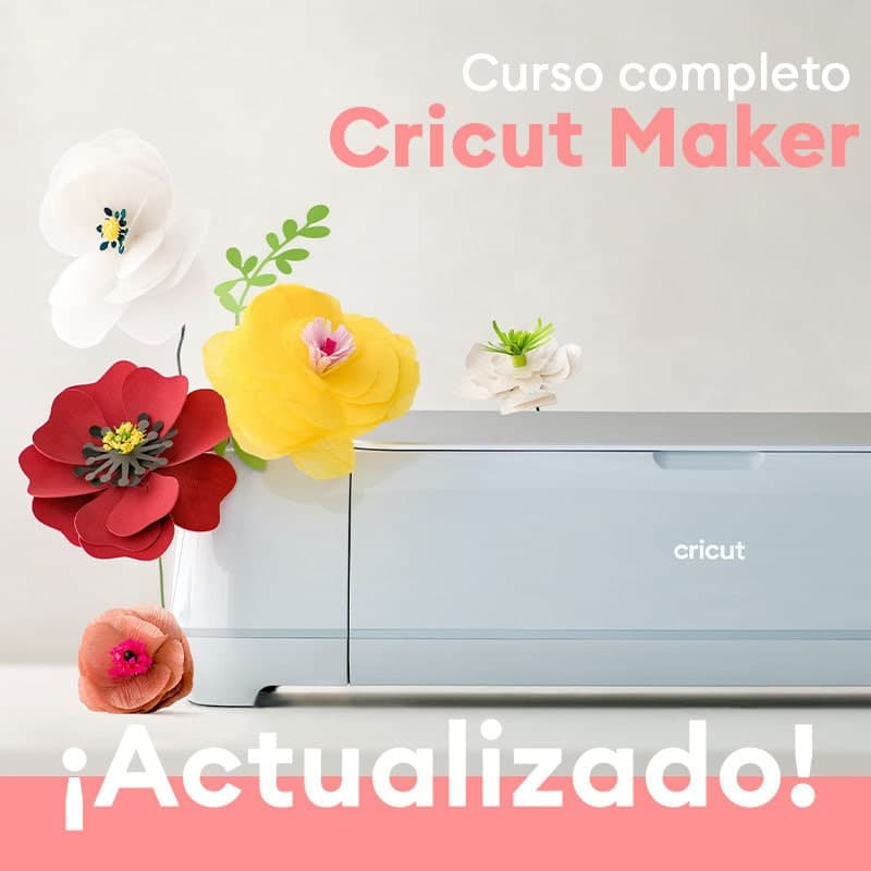 ¡NUEVO CURSO DE CRICUT MAKER EN ACADEMIA CRICUT!
