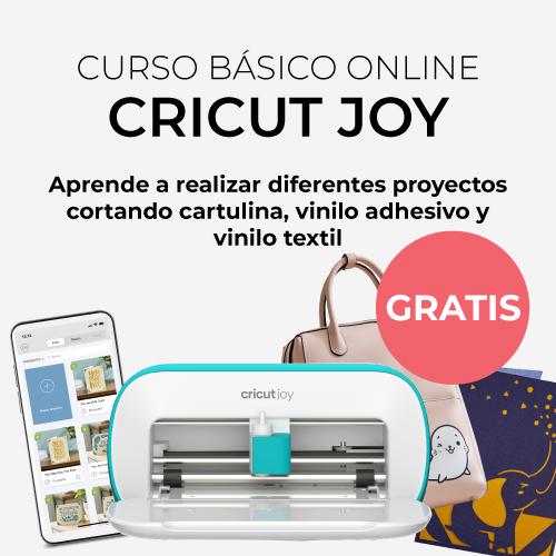 Curso Cricut Joy - Manualidades, personalización, scrapping...