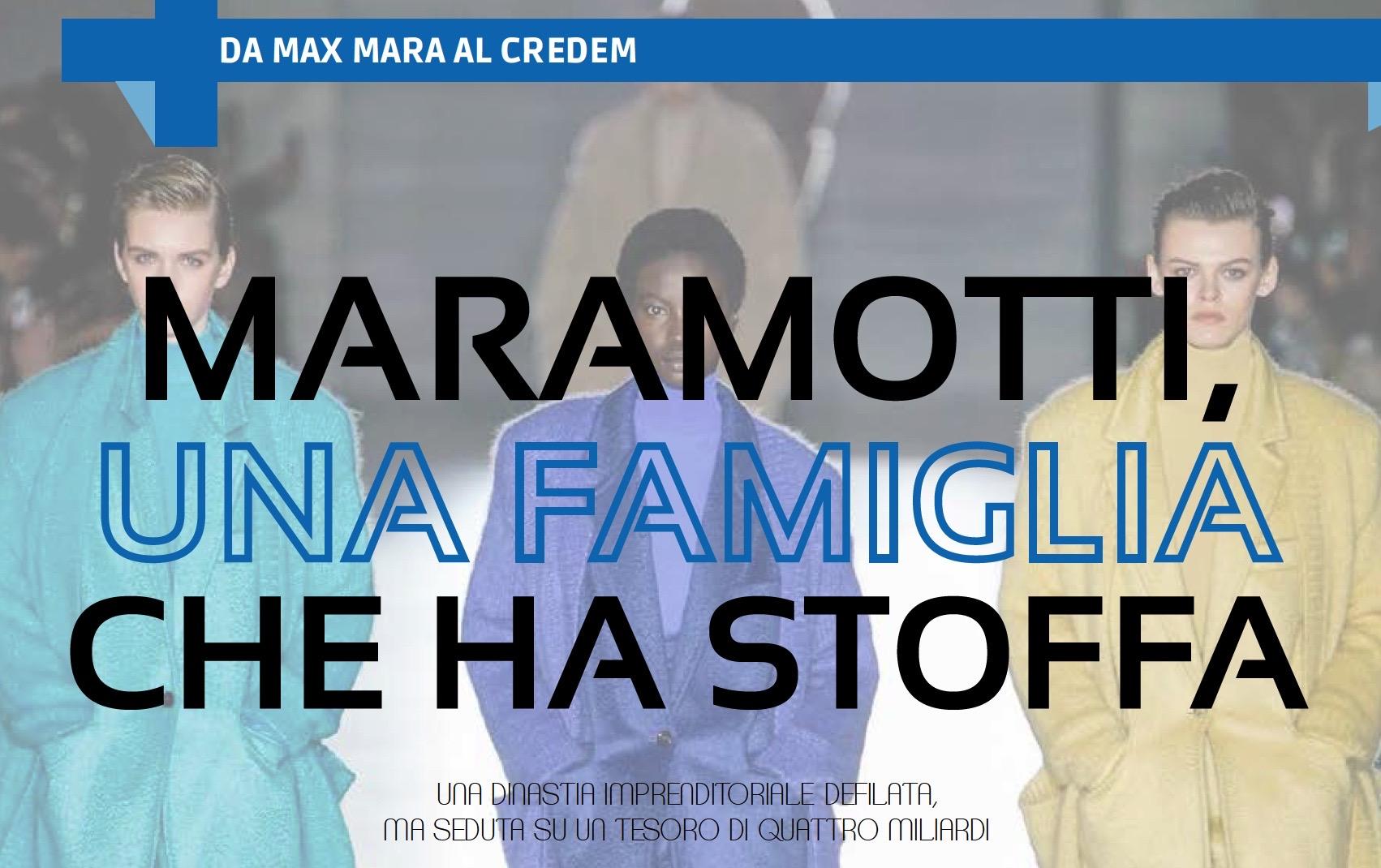MARAMOTTI, UNA FAMIGLIA CHE HA STOFFA