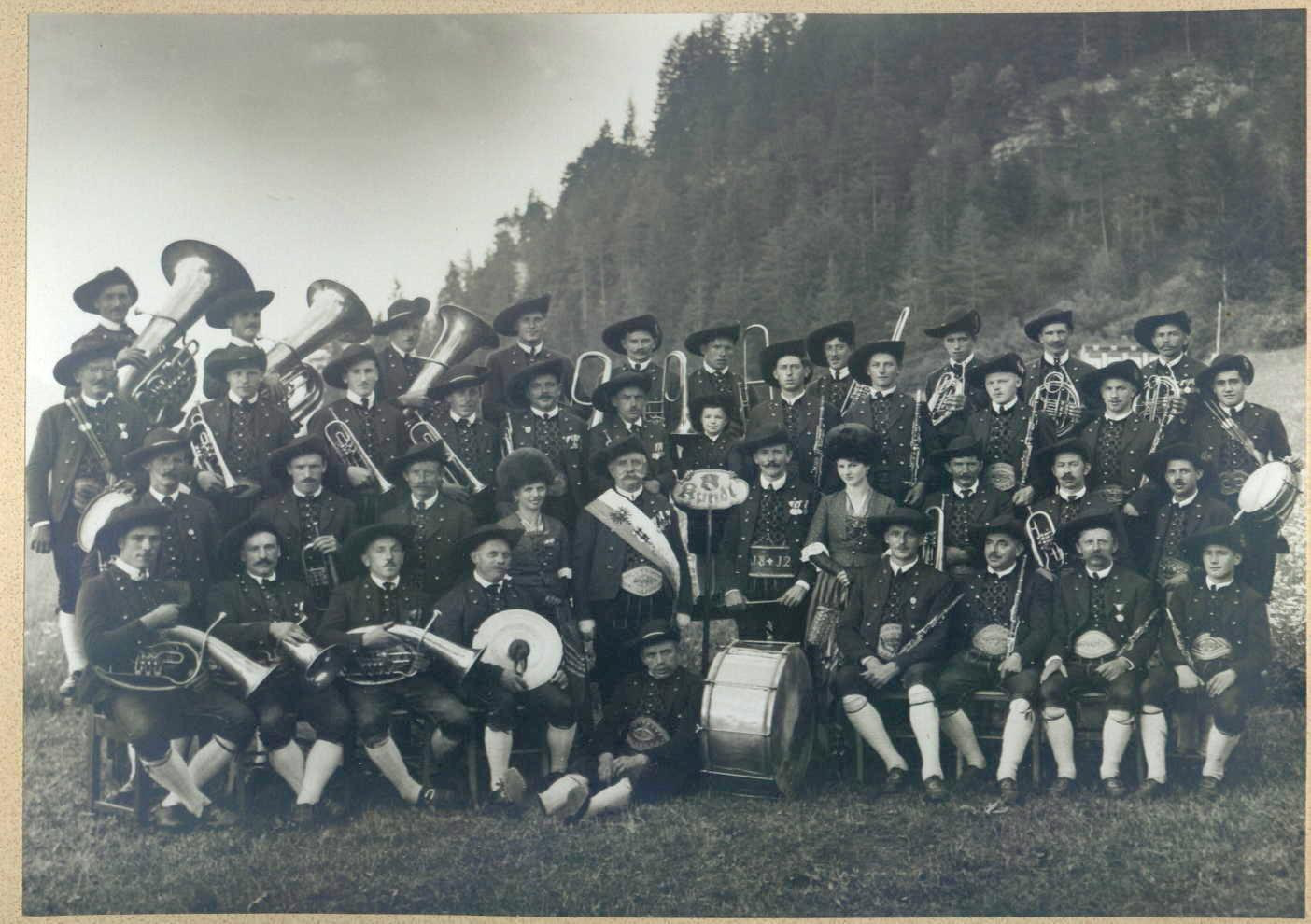 MK Kundl im Jubiläumsjahr 1935