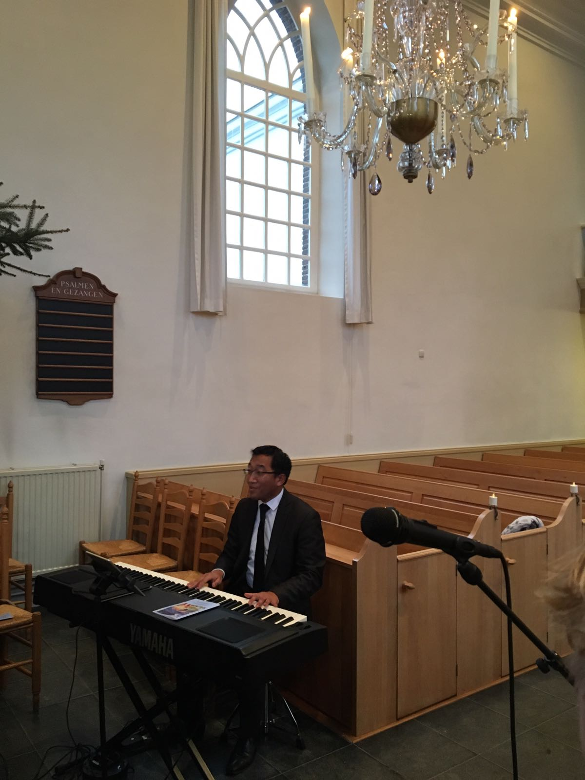 Eerste kerstdag Hervormde kerk te Acquoy