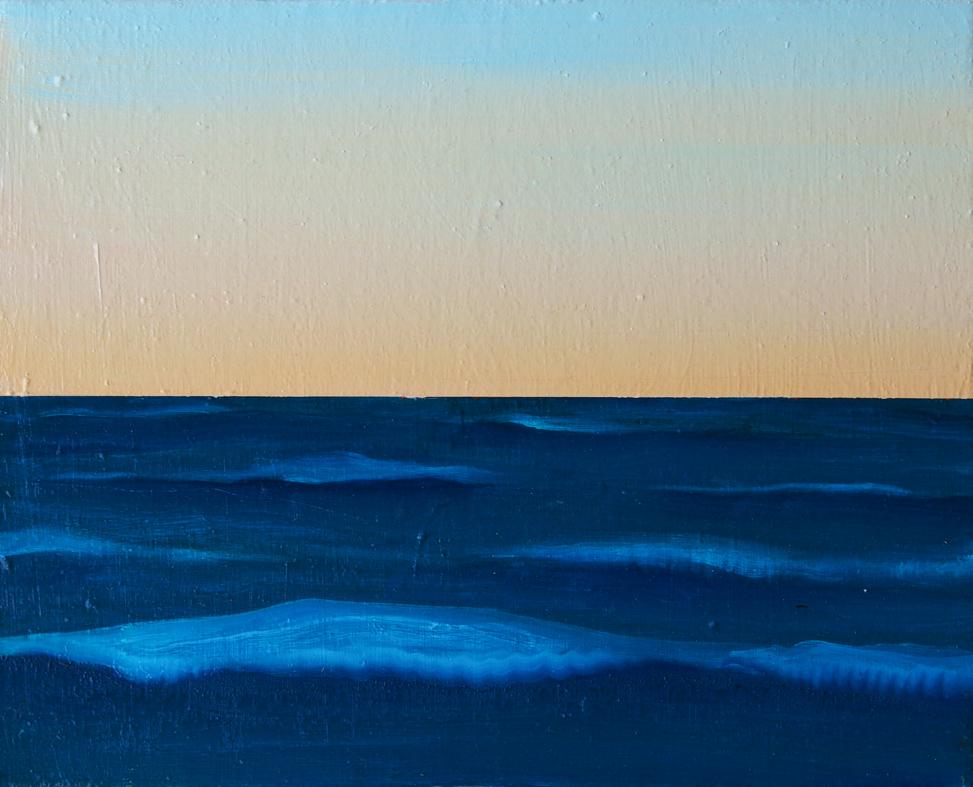 水平線 / Horizon,  油絵 / Oil Painting,  2018