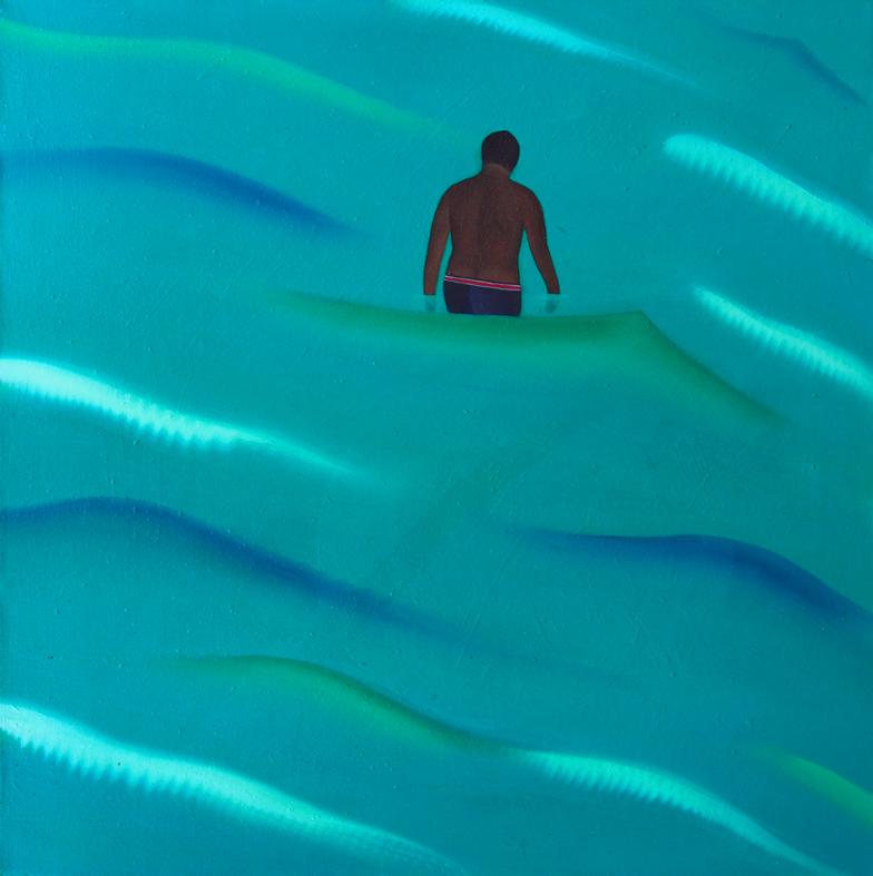 illa de Maré2(マレ島2),  油絵 / Oil Painting,  2018