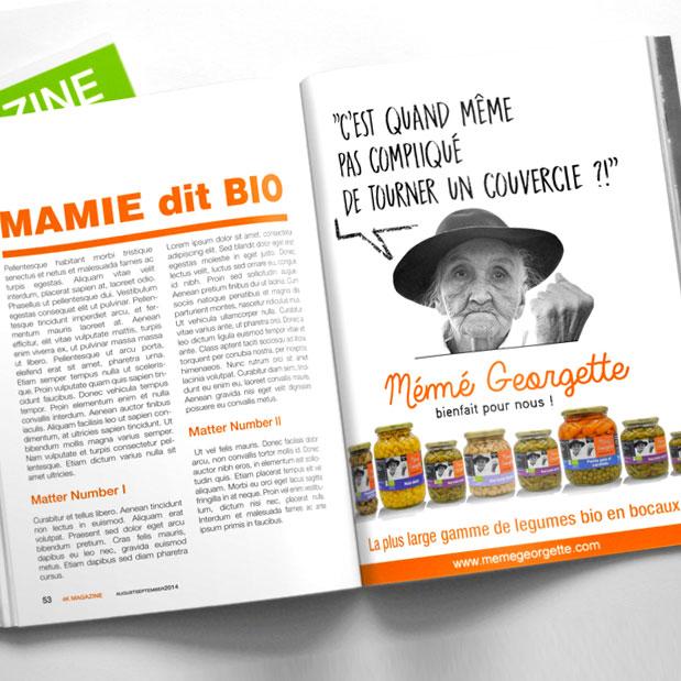 <h3>Création et lancement de marque Bio-Alimentaire</h3><p>Création logo, identité visuelle</br>Ton rédactionnel</br>Packaging produit </br>Concept de communication</br>Dispositifs de communication On&Off Line </br>Stratégie de buzz (film teaser)