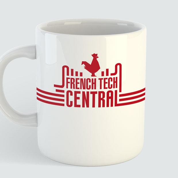 <h3>Création de l'identité visuelle French Tech Central au coeur de la Station F</h3><p>Création du logotype </br>Réalisation de la charte graphique </br>Signalétique </br>Goodies