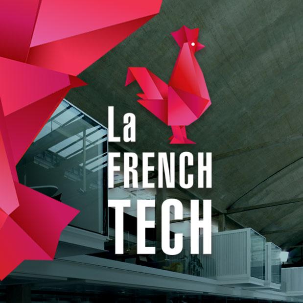 <h3>Création de l'identité visuelle «La French Tech» </h3><p>Création du logotype </br>Réalisation de la charte graphique </br>Création des supports de communication