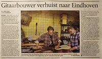 Interview Eindhovens Dagblad 21 sept 2012