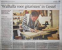 Interview Eindhovens Dagblad 26 april 2014