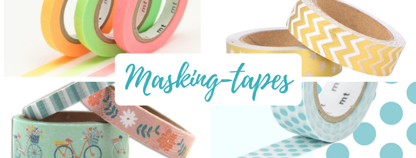 paper break boutique atelier papeterie loisirs creatifs diy creteil val de marne collection masking-tapes