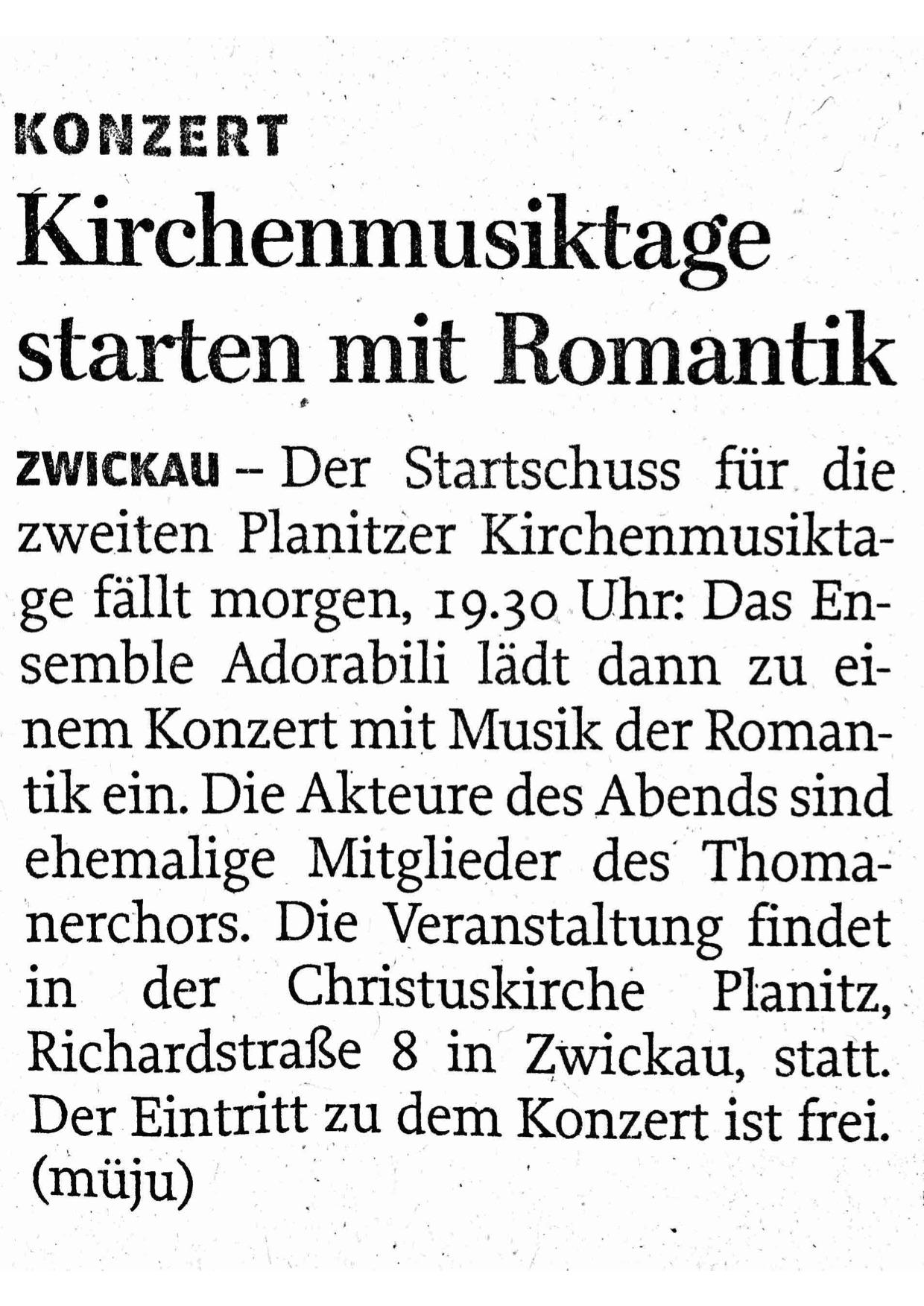 Freie Presse 23.03.17