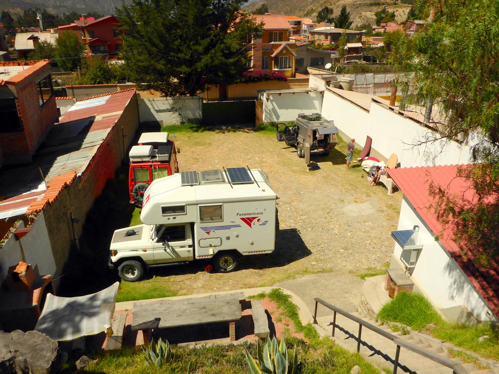 Camping im Hotel Oberland