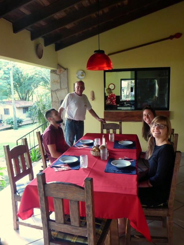 Abendessen bei Rene und Marion...