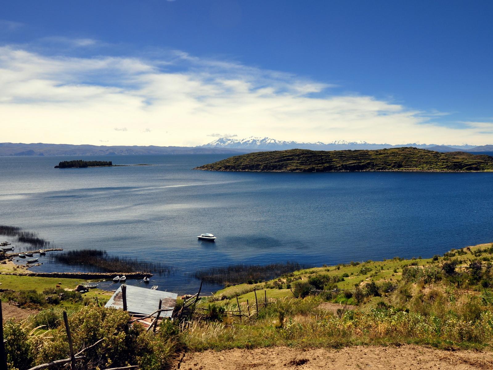 Aussicht von der Isla del sol
