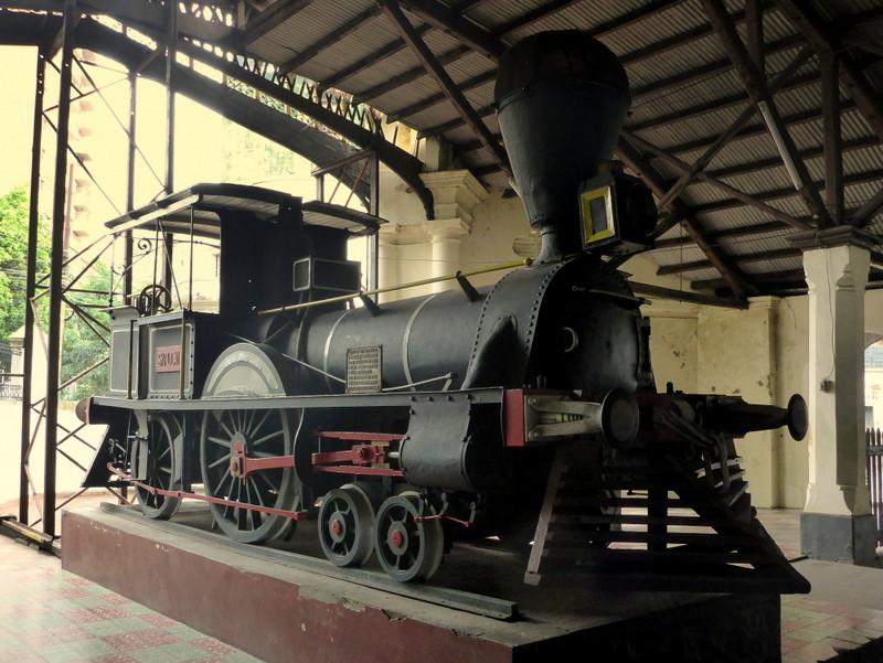 Erste Eisenbahn Südamerikas in Paraguay. Heute gibt es keine Linien mehr.