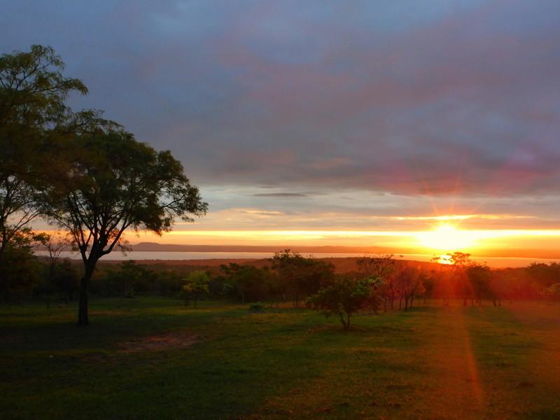 "Sonnenuntergang auf dem ""Hasta la Pasta"" Camping"