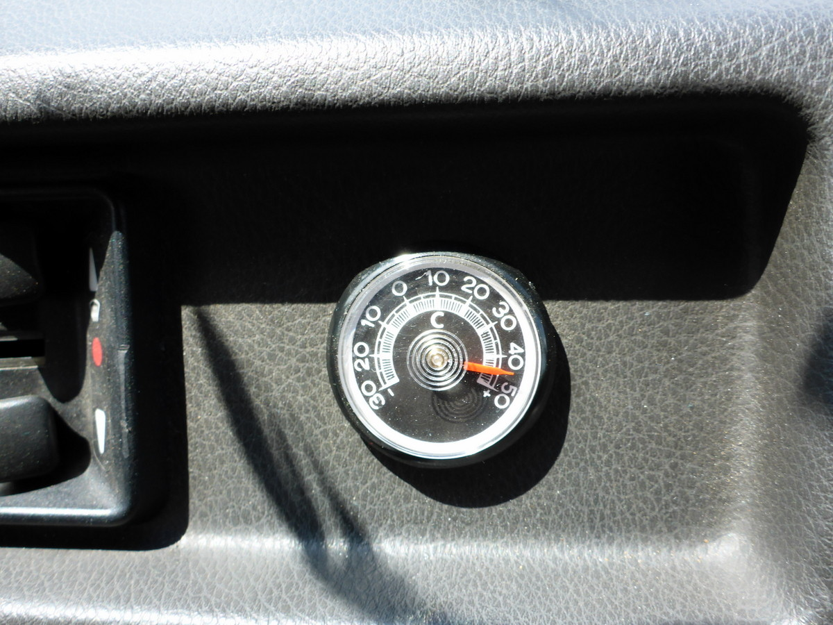 Klimatisierung ist für unseren Bus ein Fremdwort...