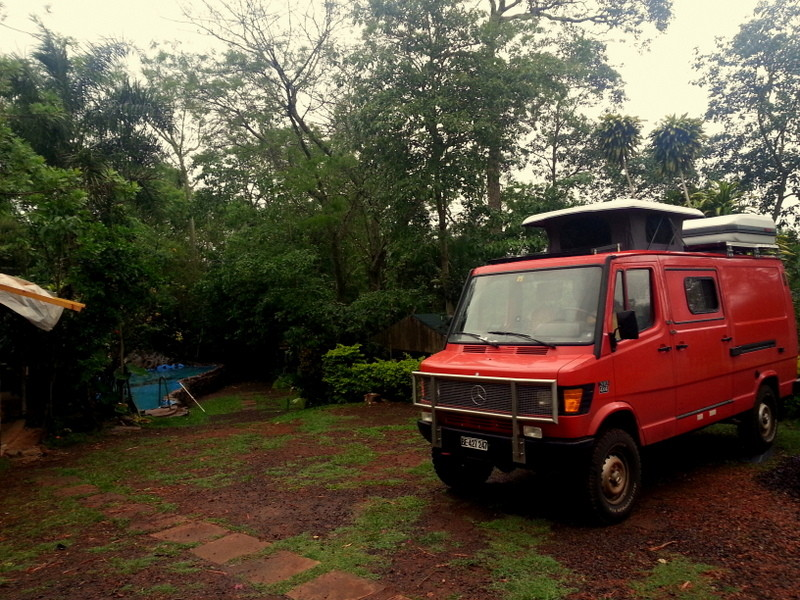 Camping bei den Foz de Iguazu