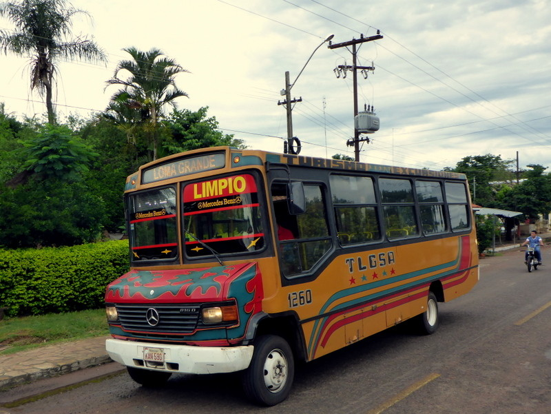 """Öffentlicher Bus """"Collectivo"""""""
