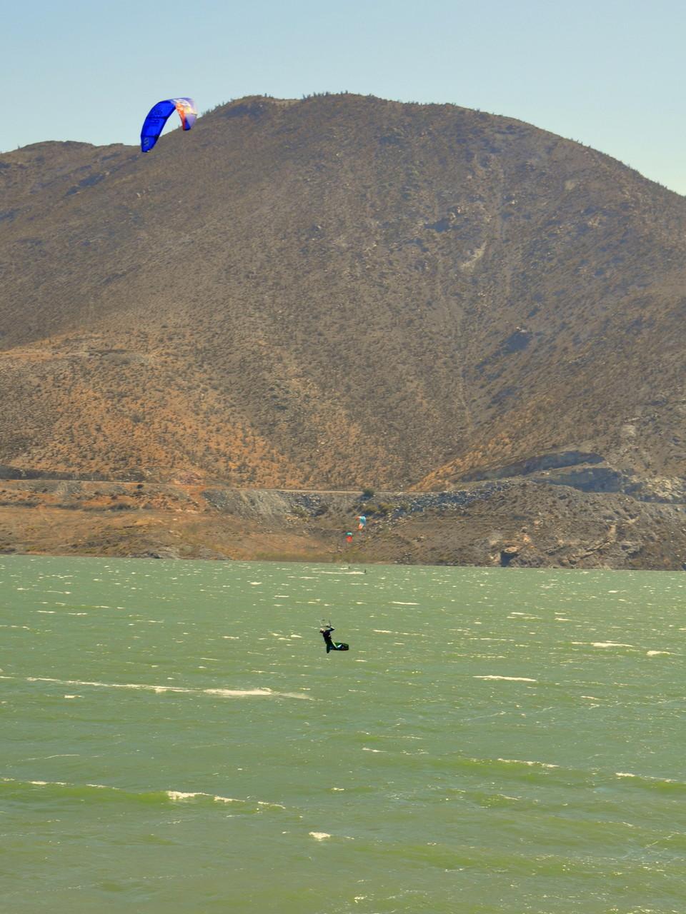 Kiten vor Mendoza