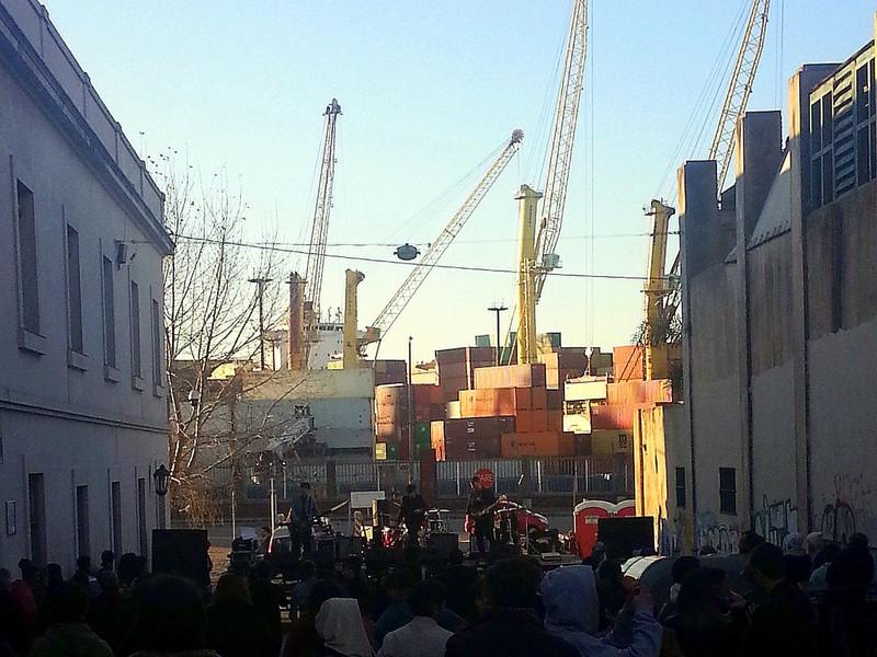 Strassenkonzert in der Ciudad Vieja