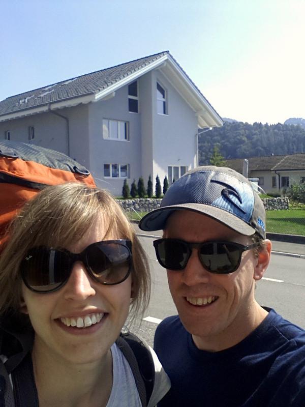 Start in Steffisburg, endlich gehts los :-)