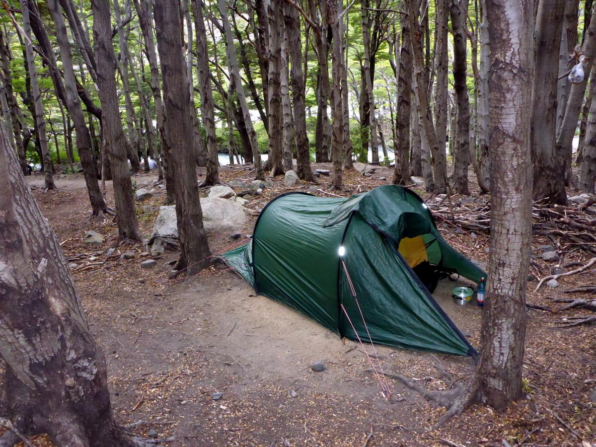 unser Nachtlager auf der W-Wanderung