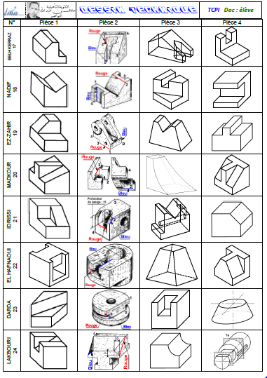 Module 1 Dessin Technique 2015 2016 Site De Ezzahraoui Prof Du