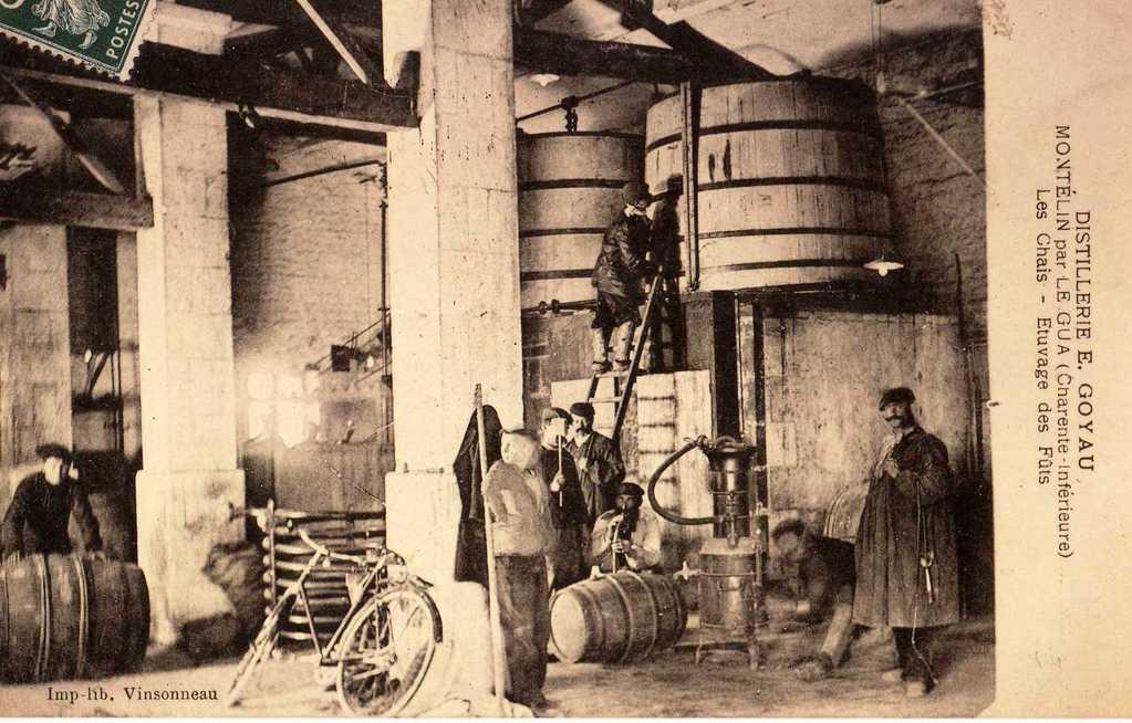 Distillerie Goyau, avant 1914