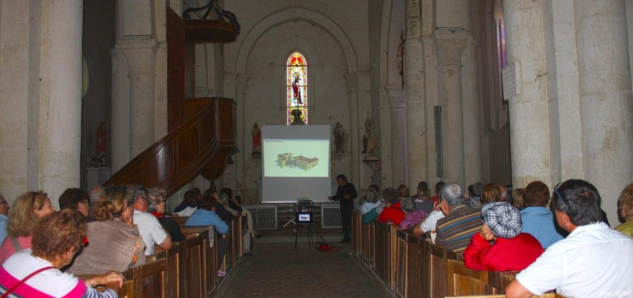 Restitutions 3D du monastère au Moyen Âge